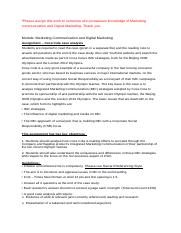 1d524_Marketing communication and Digital Marketing.docx