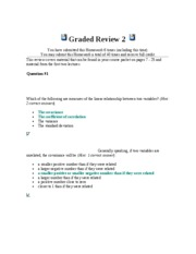 Graded Review 2