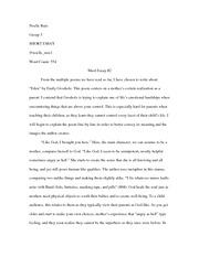 "Analysis of the poem ""Eden"" by Emily Grosholz"