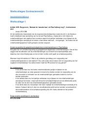 Werkcolleges Contractenrecht .docx