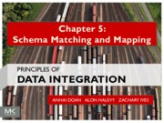 Chapter_5 Schema Matching and Mapping