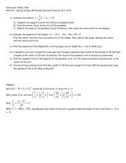 Math 43 - Spring '14 Quiz #4 Review