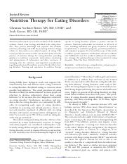 nutrition therapy- 5