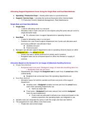 Ch 15 - Allocation of Support-Department Costs, Common Costs, and Revenues.docx