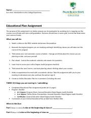 Educational Planning Assignment - PBSC Boca Campus- Revised for New Website (2).docx