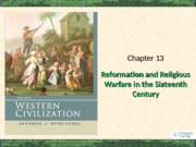 Chapter 13 Reformation