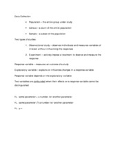 Stat Test 2 Notes