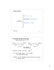 Chem 224_Lecture Notes on Cofactor Chemistry - Nicotinamide Dependent Enzymes
