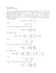 probability Assignment 7 Solutions