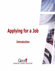 Applying for a Job 1ES - Introduction.pdf