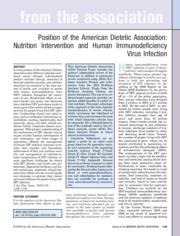 JADA%202010PP_NutritionInterventionHIV