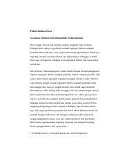 Pidato Bahasa Jawa Dengan Kromo Inggil Ass Wrwb Kulo Aturaken Matur