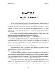 12- Chapter 5 - Traffic Planning