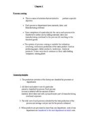 Managerial Acct Chapter 4