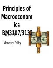 BM3107 L10 Monetary policy (Use this).ppt