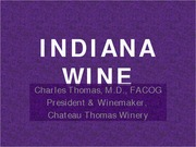 INDIANA WINE CHATEAU LECTURE 5b