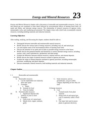 Earth,Notes,RevQs,Ch23
