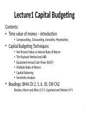 Capital-Budgeting I.ppt