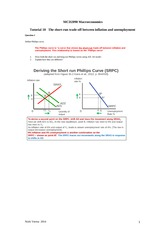 Answers  T.10 Week 11 Phillips Curve