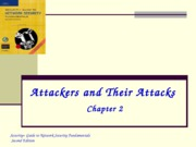Ch02 - Attackers and Their Attacks