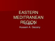 16- Chapter 4,  EASTERN MEDITRANEAN REGION