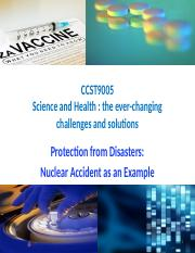 L6 Protection from Disasters - Nuclear Accident as an Example.pptx