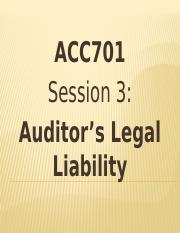 ACC701 Session 3