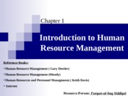01. Introduction to Human Resource Management (2014)