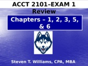 Acct2101_STW_EXAM_ONE_REVIEW_2015_FALL - HuskyCT Version (1)