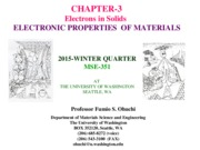 MSE351-CHAPT[3]2015 Electrons in Solids