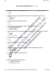 Electronics Systems and Technologies Test 3