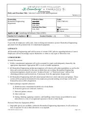 CSEC FMS 011 BME Infection Control.doc