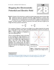 28 Mapping the Electrostatic Potential and Electric Field