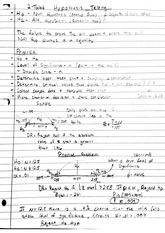 qa 252 2 tail hypothesis testing notes