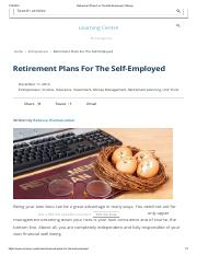Supplement Lecture 1_8_Retirement Plans For The Self-Employed _ iMoney.pdf