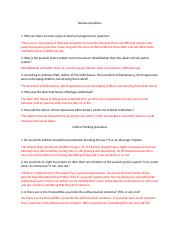 Review Questions Unit 4 Criminal Mitchell Clendenin