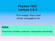 Lecture 3&4