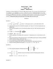 (www.entrance-exam.net)-ISC Class 12 Mathematics Sample Paper 2.doc