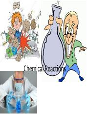 Chemical Reactions intro