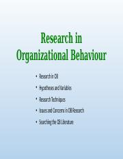 Research in Organizational Behaviour.pptx