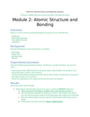 Module 2 Atomic Structure and Bonding Report template_03