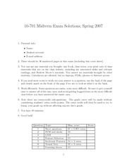 midterm2007s-solution