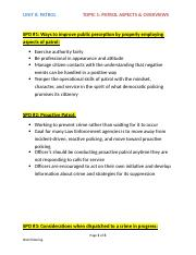 Unit 8 - Topic 1 Patrol Aspects & Overview SPOs.docx