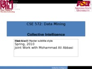 CSE 572-Collective Inteligence-Part I_1