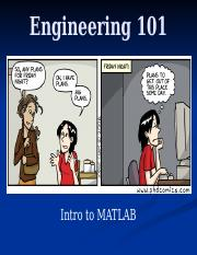 16 - Intro to MATLAB - Full