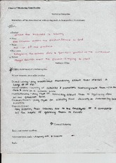 Management In Health Marketing Categories Notes