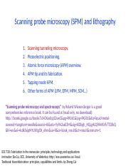 19 Scanning probe microscopy & lithography_1