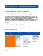 Project proposal evaluation rubric