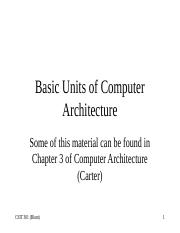 Computer acrhitecture units.ppt