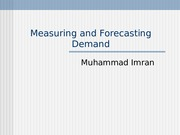 6-Measuring and Forecasting Demand (1)